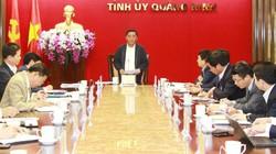 Chủ nhiệm Ủy ban Kiểm tra Trung ương làm việc tại Quảng Ninh