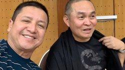"""Dàn nghệ sĩ """"Táo quân"""" tập chương trình mới, Chí Trung nhiệt tình """"dìm hàng"""" đồng nghiệp"""