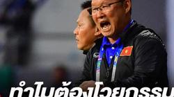 Phục sát đất, báo Thái so sánh HLV Park Hang-seo với Kiatisak