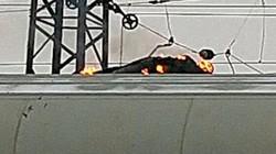 """Thiếu niên Nga thành """"bó đuốc sống"""" vì chạm vào dây điện 27.000 volt"""