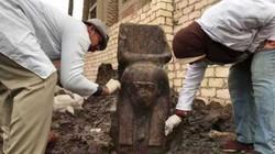 Tìm thấy tượng quý hiếm của vị vua Ai Cập vĩ đại gần kim tự tháp Giza