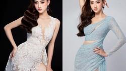 Trước giờ G, Lương Thùy Linh khó xử, nhờ fan lựa chọn váy áo