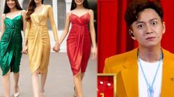 """Ngô Kiến Huy phấn khích khi top 3 Hoa hậu Hoàn vũ VN """"mượn"""" ý tưởng trang phục đèn giao thông"""