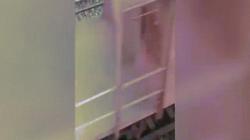Video: Bị đoàn tàu chạy qua, vẫn đứng dậy đi lại như thường
