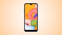 Samsung lặng lẽ ra mắt Galaxy A01 giá siêu rẻ, cấu hình tốt