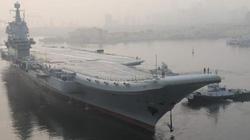 Hai tàu sân bay Trung Quốc cùng kết hợp tác chiến cô lập Đài Loan?