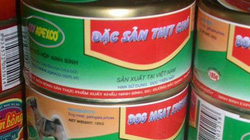 Thông tin mới nhất về 'xưởng sản xuất thịt chó đóng hộp' ở Ninh Bình