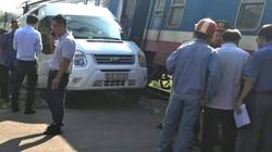 Va chạm tàu hoả với xe ô tô, nhiều người bị thương