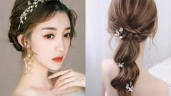 11 kiểu tóc Hàn Quốc cực đẹp cho cô dâu xinh ngất ngây như nàng thơ