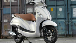 Chi tiết Yamaha Grand Filano Hybrid trắng tinh khôi, giá 49,5 triệu đồng