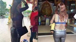 Đầu năm, chị em mặc đồ phản cảm đến nơi thờ tự: Chọn sao cho đúng?