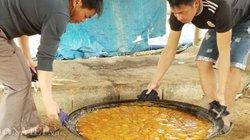 Làng nghề mía đường trăm tuổi xứ Lạng rực lửa ngày đông giá rét