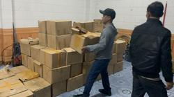 Quảng Ninh: Bắt hơn 1 tấn tai lợn khô, lòng khô không rõ nguồn gốc