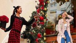 Sao Việt trang trí nhà lung linh như cung điện, tự mua hàng hiệu tặng mình lễ Giáng sinh 2019