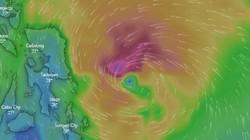 Bão Phanfone gió giật cấp 12 đang tăng tốc hướng vào Biển Đông