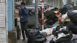 Dân Sóc Sơn chặn xe chở rác, nội thành Hà Nội rác ngập khắp ngõ phố
