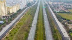 Đường gom đại lộ Thăng Long thêm 4 làn đường phục vụ đua F1