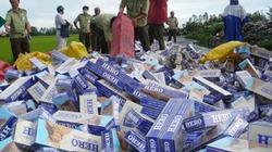 Thị trường tràn ngập thuốc lá lậu, vì sao khó xử lý?
