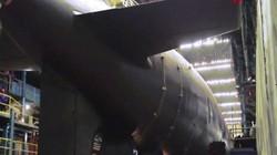 """Video: Nga hạ thủy siêu tàu ngầm hạt nhân đáng sợ nhất như """"quà Giáng sinh"""" cho Mỹ"""