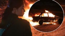 Miu Lê chơi lớn đốt trụi xe hơi khi vừa trở lại
