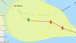 Tin mới nhất: Bão số 8 PHANFONE cách Hoàng Sa 520km, giật cấp 13
