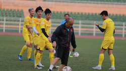 U23 Việt Nam tập gì trước trận đấu với B.Bình Dương?