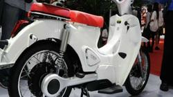 Cận cảnh xe điện giống hệt Honda Super Cub C125, chạy 120 km/lần sạc