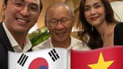 Vợ chồng Hà Tăng gặp HLV Park Hang Seo, nói 1 câu bất ngờ với bóng hồng ĐT bóng đá nữ