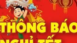 Học sinh Hà Nội và học sinh TP.HCM được nghỉ Tết Nguyên đán bao nhiêu ngày?