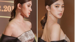 Hoa hậu Jolie Nguyễn mặc gợi cảm đi chấm thi hoa khôi