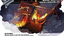 """Bí ẩn """"tàu ma"""" Northumberland Strait tự bốc cháy """"trêu ngươi"""" con người"""