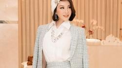 MC Thanh Mai khoe thần thái U50 xinh đẹp, trẻ trung