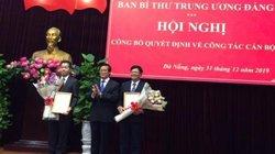 Phó Viện trưởng VKSND Tối cao nhận nhiệm vụ ở Thành ủy Đà Nẵng