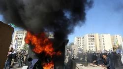 Đòn trả đũa đầu tiên của lực lượng thân Iran nhằm vào Đại sứ quán Mỹ ở Iraq