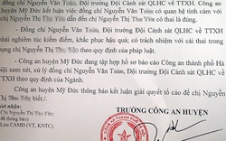Hà Nội: Đội trưởng Công an huyện quan hệ bất chính, khiến người phụ nữ có thai