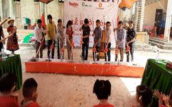Báo NTNN/Báo Điện tử Dân Việt khởi công xây dựng nhiều điểm trường cho học sinh nghèo
