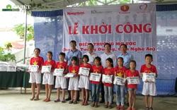 Thêm một điểm trường mơ ước đến với học sinh nghèo Nghệ An