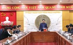 Thái Nguyên báo cáo tiến độ lập Quy hoạch tỉnh giai đoạn 2021 - 2030, tầm nhìn 2050