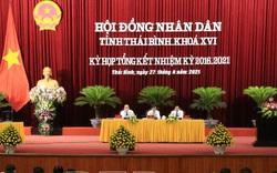 Thái Bình: Nhất trí cho rút 1 người không tham gia ứng cử ĐBQH