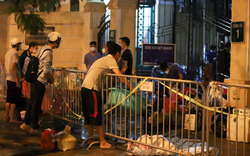 Xuyên đêm tiếp tế nhu yếu phẩm cho người cách ly trong bệnh viện Việt Đức