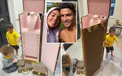 """Ronaldo tặng món quà độc đáo khiến bạn gái """"nghẹn lời"""""""