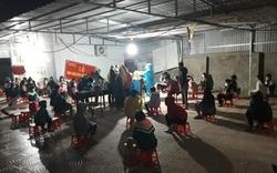 Phú Thọ: Xuyên đêm test nhanh, phát hiện nhiều ca nghi dương tính SARS-CoV-2