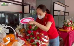 Nghệ An: Hoa tươi tăng giá, quà tặng đắt tiền 'lên ngôi' dịp 20/10