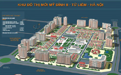 Hà Nội điều chỉnh cục bộ quy hoạch chi tiết Khu đô thị mới Mỹ Đình II