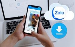 Cách đơn giản giúp tải và lưu các dữ liệu quan trọng trên Zalo
