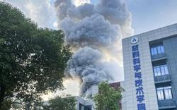 Nổ kinh hoàng tại trường đại học hàng không vũ trụ hàng đầu Trung Quốc