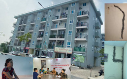 Phú Thọ: Hàng trăm cư dân sống bất an trong chung cư Thụy Vân