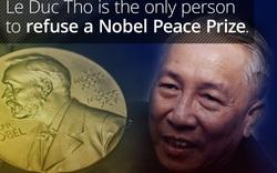 Người Việt Nam duy nhất từ chối Giải Nobel Hòa bình là ai?