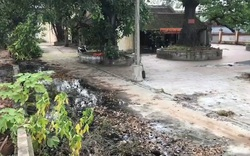 Video: Doanh nghiệp giấy ở Bắc Ninh xả nước thải độc hại vào đình làng