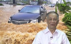 """GS.TS Vũ Trọng Hồng: """"Hệ thống thoát nước của Hà Nội... không còn phù hợp, chúng ta nên học nước Ý"""""""